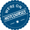 Hotcourses.com 'as listed on' badge